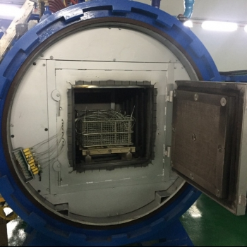 New vacuum hardening was installed in Malaysia :  Furnace Engineer by CHS-ASIA Col.,LTD